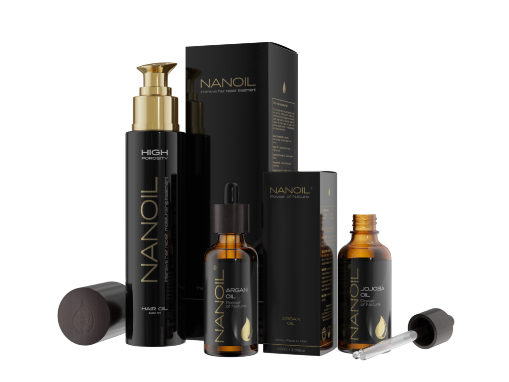 Nanoil hair oils